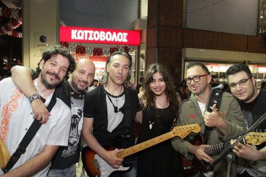Το συγκρότημα ΕΜΙGRE έντυσε μουσικά τη βραδιά
