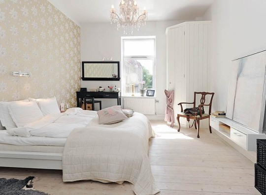 white-color-bedroom