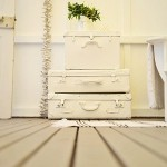 Painted-white-vintage-suitcases