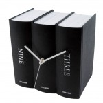 Three-Books-Desk-Clock