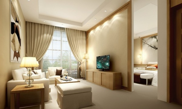 beige-color-room