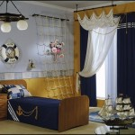 pirate theme bedroom ideas-decorating pirate theme bedrooms boys nautical style decorating