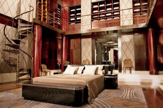 Η κρεβατοκάμαρα στην έπαυλη του Great Gatsby (2013)
