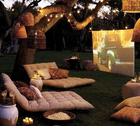 θερινό σινεμά στο σπίτι
