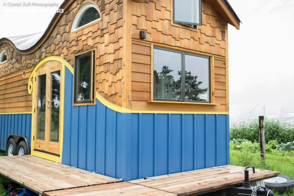 Tiny house with clever ideas