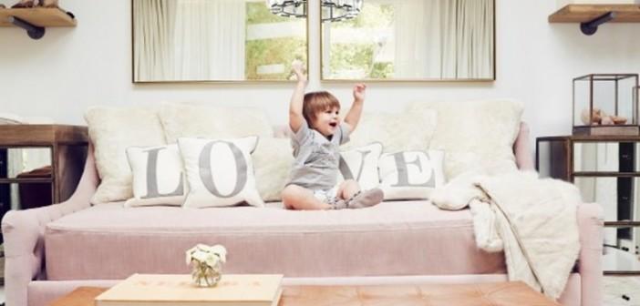 Παιδικό δωμάτιο σε γήινους τόνους