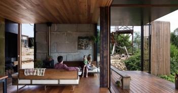 Σπίτι φτιαγμένο από ανακυκλωμένο μπετόν