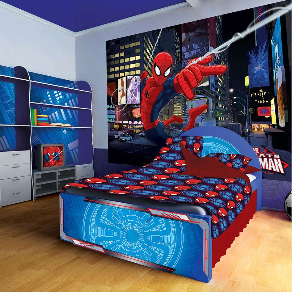 70-524-SPIDERMAN-MURAL