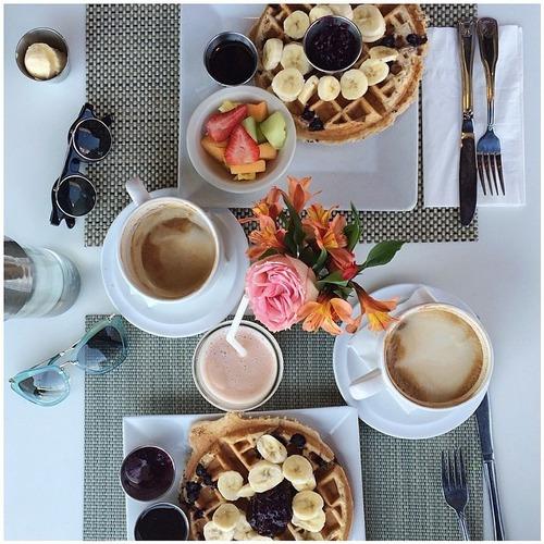 προετοιμασία πρωινού Pitsos
