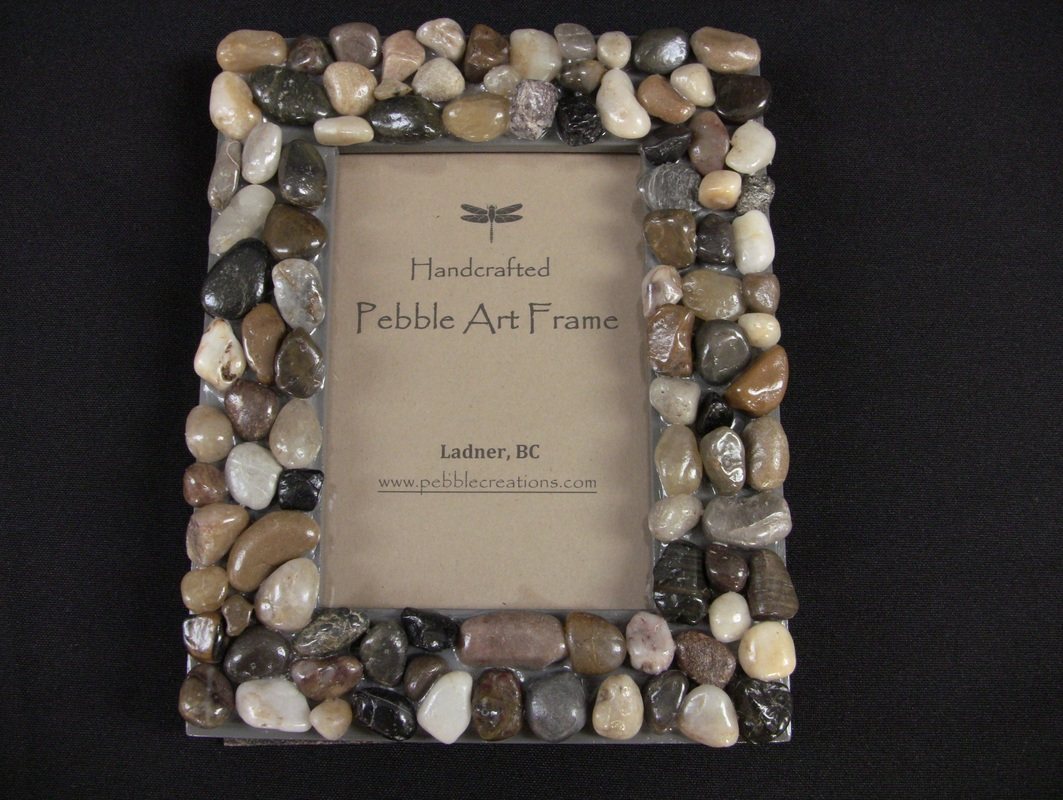 pebbles-picture-frame