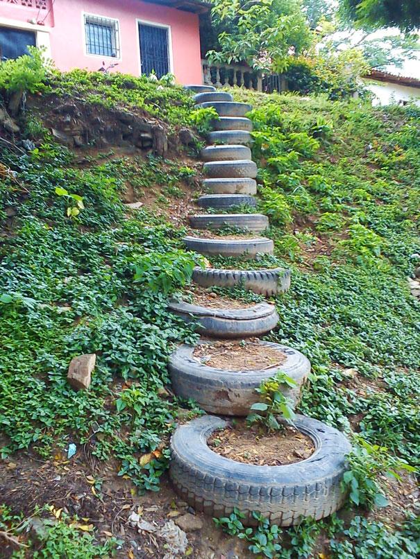 Σκάλες για την αυλή σας