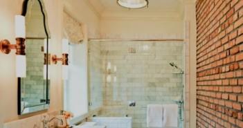 τούβλα στο μπάνιο