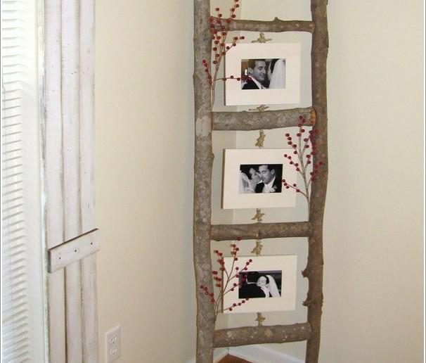 διακόσμηση με κινητή σκάλα