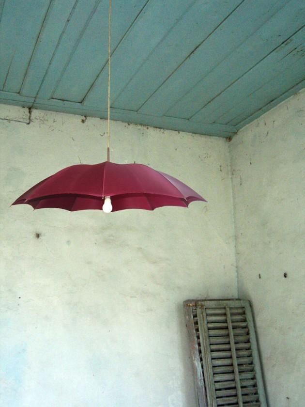 διακόσμηση με ομπρέλες