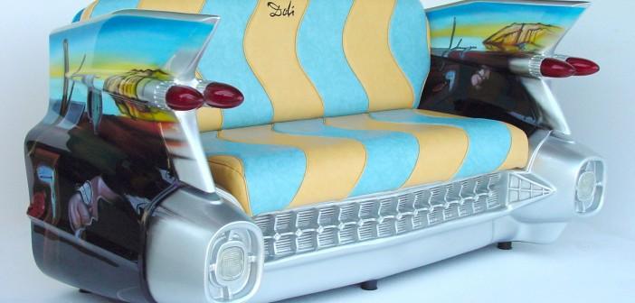'Επιπλα από παλιά αυτοκίνητα