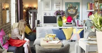 χρώμα σε μικρό διαμέρισμα