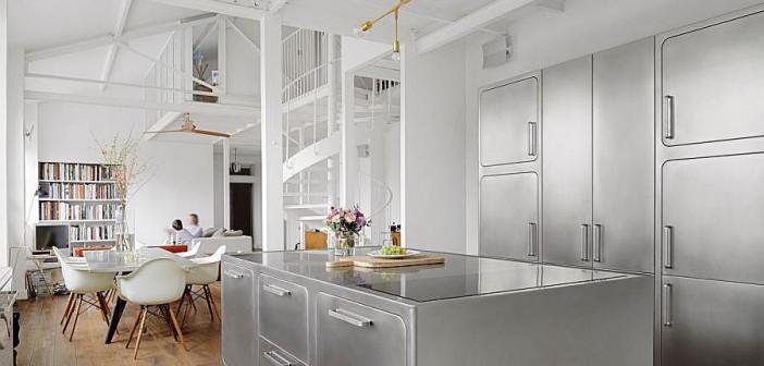 Stainless steel κουζίνα