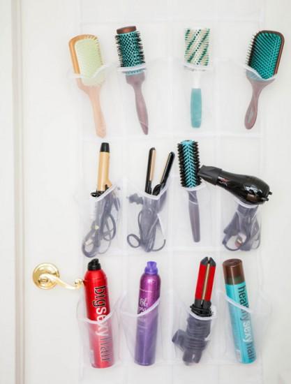DIY οργάνωση καλλυντικών