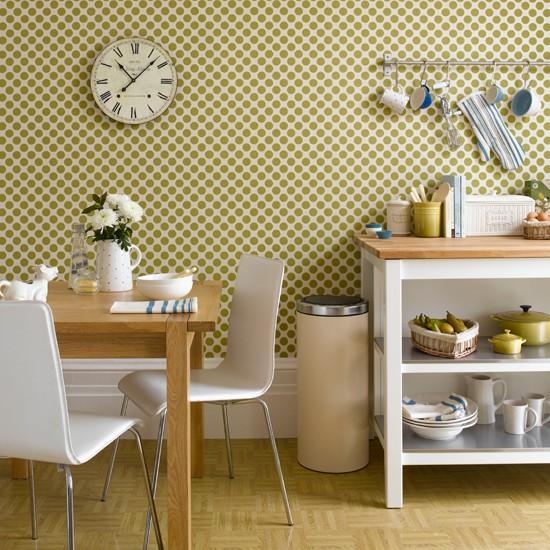 Τα γεωμετρικά σχήματα κάνουν τη κουζίνα μοναδική