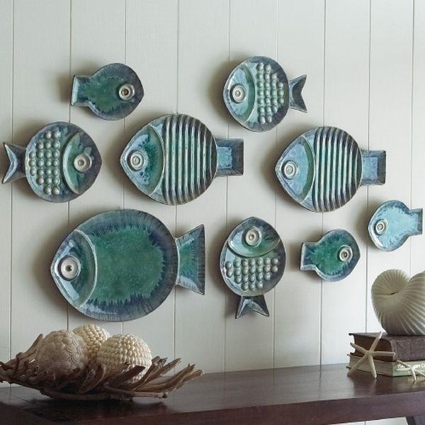 fish-plates-wall