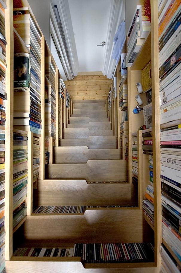 Με έξτρα αποθηκευτικό χώρο για όσους αγαπούν τα βιβλία