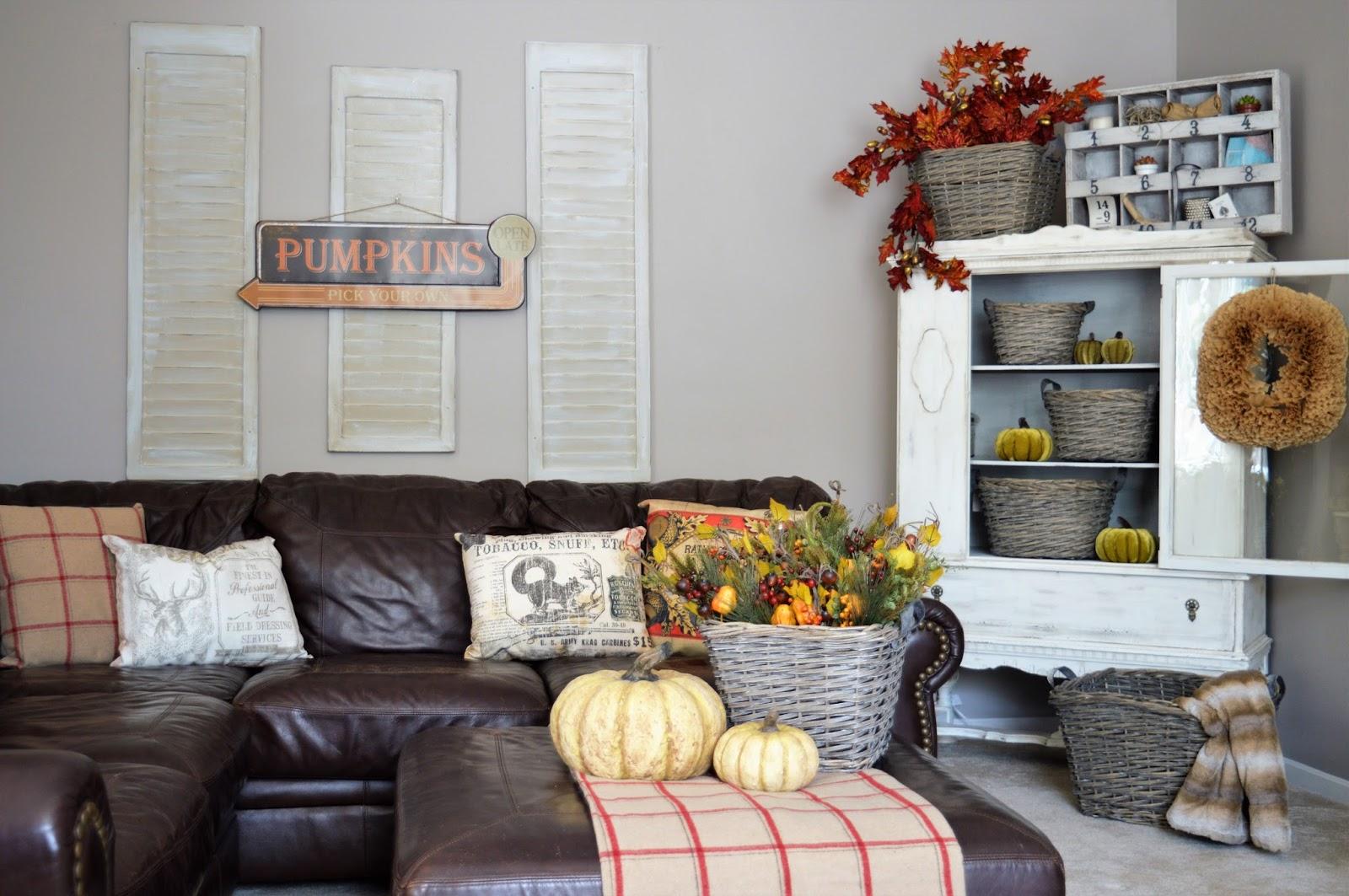 baskets living room