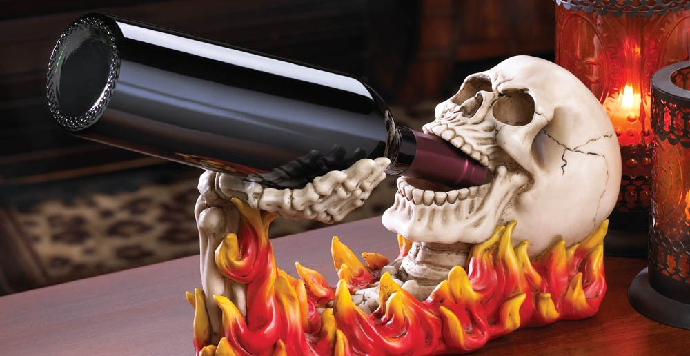 flaming-skull-wine-holder-6