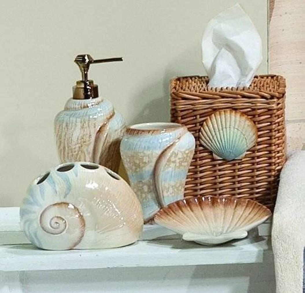 bathroom-decorating-ideas-with-seashells