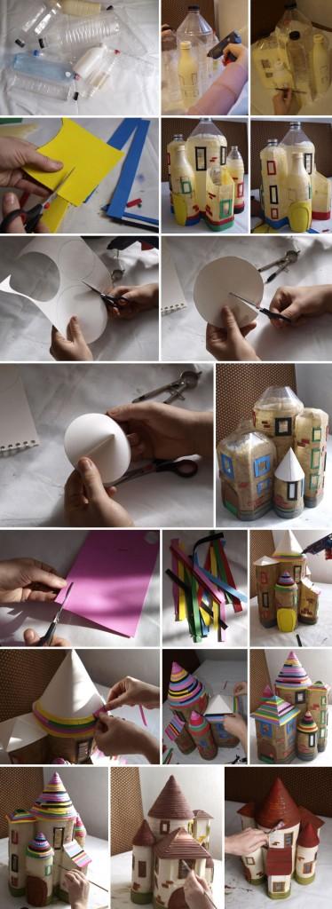 Πώς να φτιάξετε κάτι παραμυθένιο για το παιδί σας από πλαστικά μπουκάλια