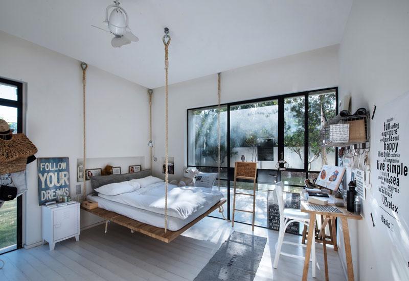 κρεμαστο κρεβατι Τι θα λέγατε για ένα κρεμαστό κρεβάτι; | Cool Home κρεμαστο κρεβατι