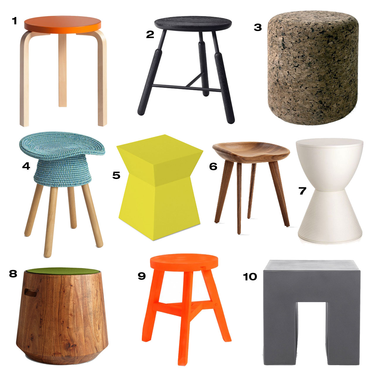 Cool home for Cool stool designs