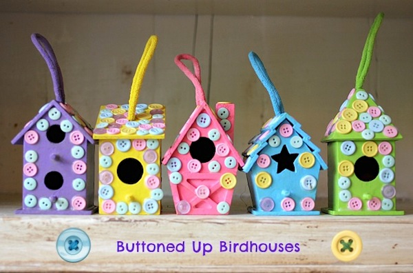 easy-kids-craft-button-birdhouses