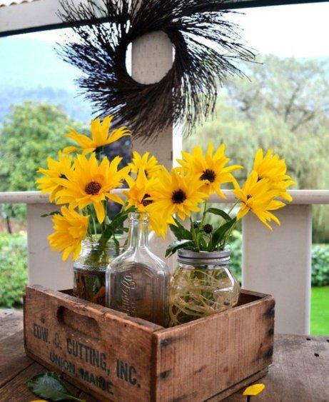 βάζα λουλούδια