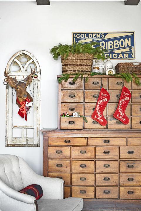spirit-christmas-past-hang-with-care-stockings-deer-head-1216
