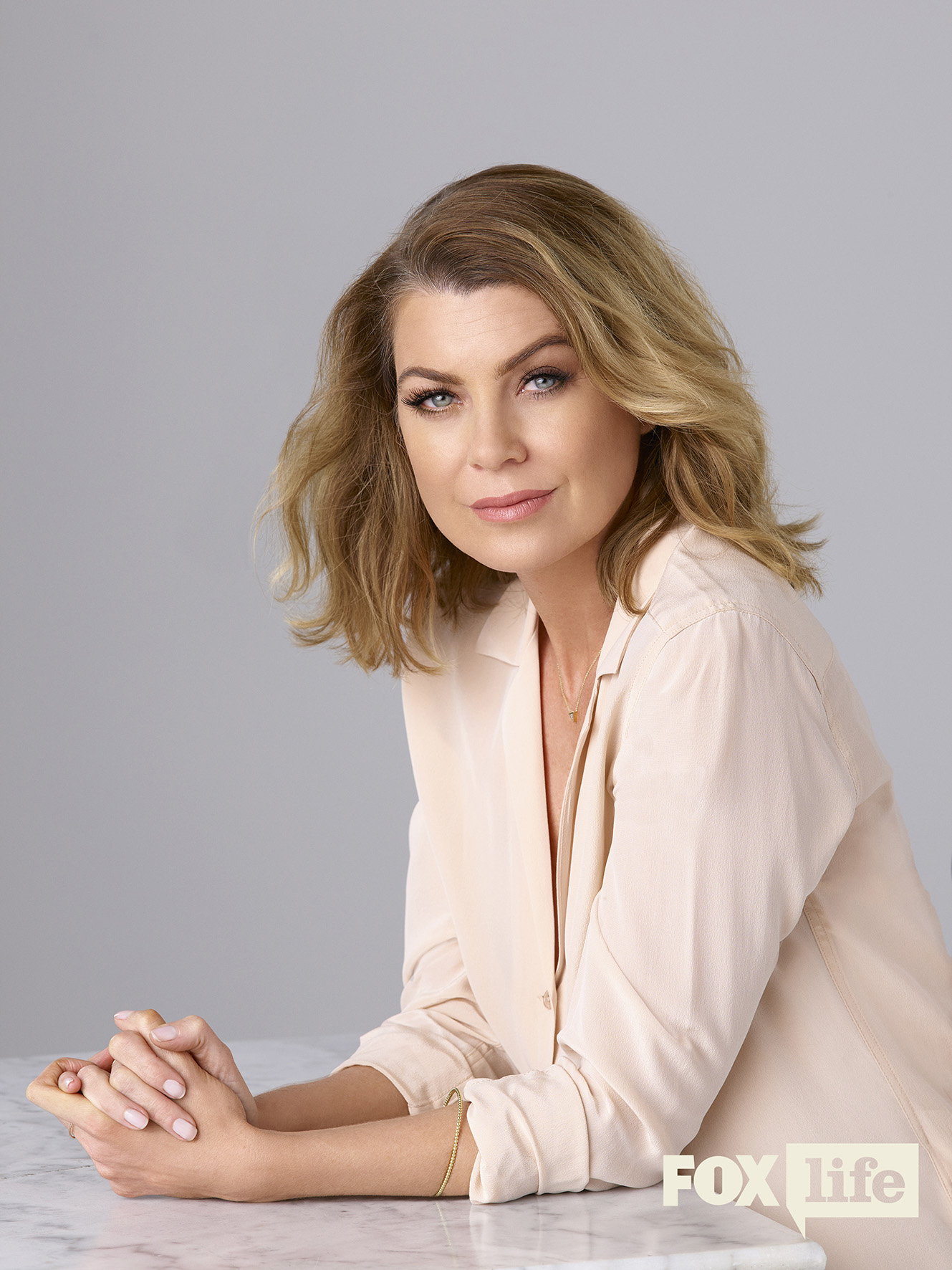 "GREY'S ANATOMY - ABC's ""Grey's Anatomy"" stars Ellen Pompeo as Meredith Grey. (ABC/Bob D'Amico)"