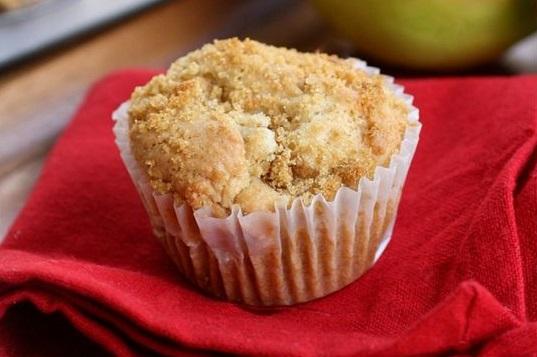Muffins μήλου