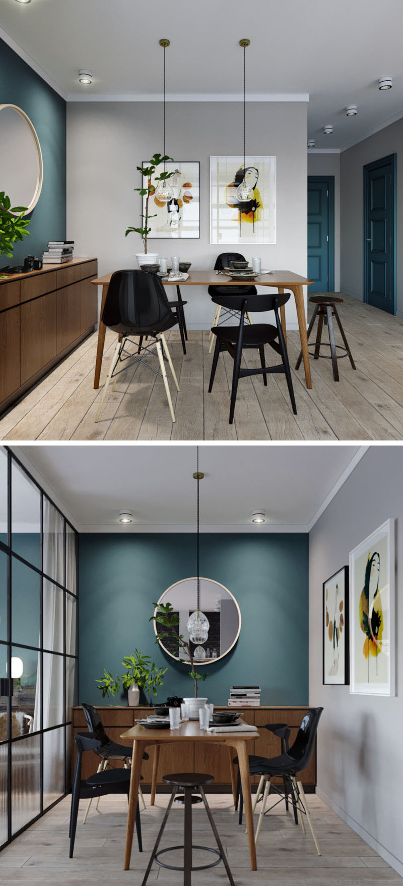 small-dining-room-deep-teal-accent-wall-170517-924-03