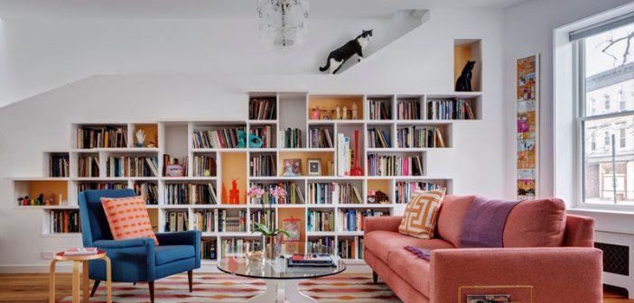 Μία καταπληκτική βιβλιοθήκη που θα λατρέψουν και οι… γάτες σας!
