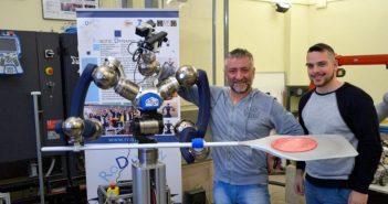 RoDyMan, το ρομπότ που φιλοδοξεί να βρίσκεται στην κουζίνα μας και να φτιάχνει… πίτσα!