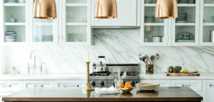 Οκτώ οικονομικοί τρόποι για να φτιάξετε μια πολυτελή κουζίνα