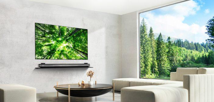 Απλότητα και Τελειότητα από την σειρά  LG Signature OLED TV W8!