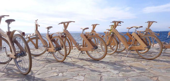 Από τη Γαύδο στο Nordkapp με το ελληνικό ξύλινο ποδήλατο της COCO-MAT!