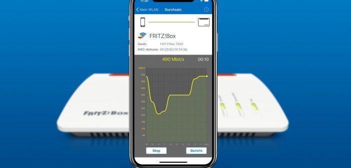 FRITZ! WLAN App για iOS – μια νέα οπτική στο WiFi σας!