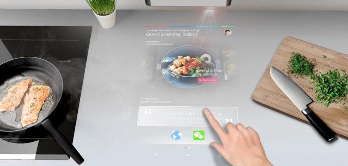 "PAI, ο προβολέας της Bosch Οικιακές Συσκευές που φέρνει το «αύριο» στην κουζίνα και κάνει το ""smart"" μαγείρεμα πραγματικότητα!"
