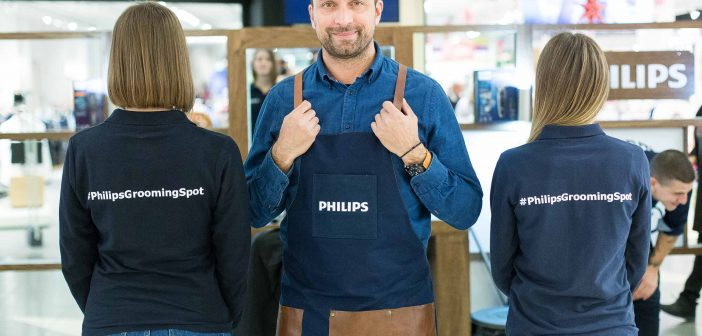 Philips Grooming Spot και… ετοιμαστείτε για το πιο ανατρεπτικό ξύρισμα ever!