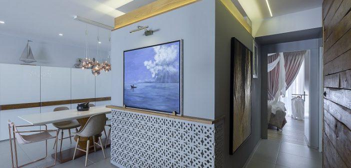 Δείτε το πρωτοποριακό design διαμερίσματος 4ου ορόφου από το studio LILA architect + designer