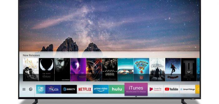 H Samsung είναι ο πρώτος κατασκευαστής Τηλεοράσεων που προσφέρει Apple TV και AirPlay 2!