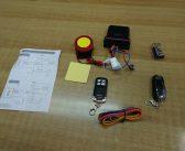 Συναγερμός μηχανής με 2 τηλεχειριστήρια και σειρήνα 125db