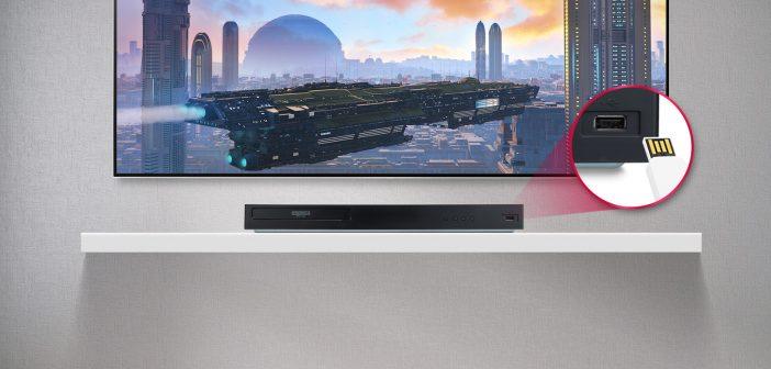 Πιο συναρπαστική και ζωντανή εμπειρία θέασης από ποτέ με το νέο LG Blu-ray player UBK80!