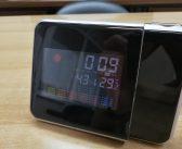 Επιτραπέζιο ρολόι – θερμόμετρο με projector